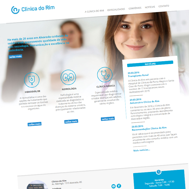Site: Clinica do Rim